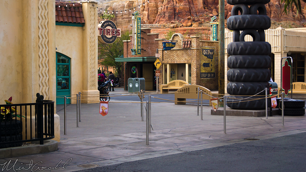 Disneyland Resort, Disney California Adventure, Cars Land, Luigi's, Rollickin', Roadsters