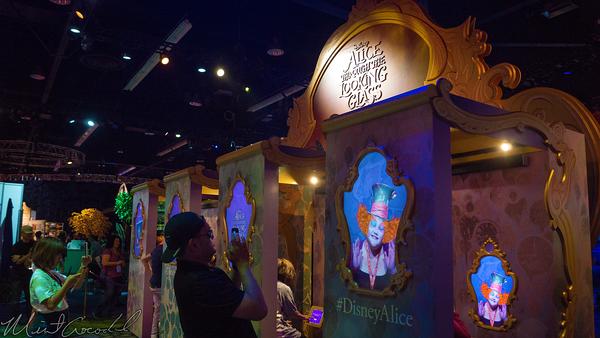 Disneyland Resort, Disneyland60, Disneyland, Disney California Adventure, D23, Expo, 2015, Show, Floor, Alice, Wonderland, Looking, Glass, Movie