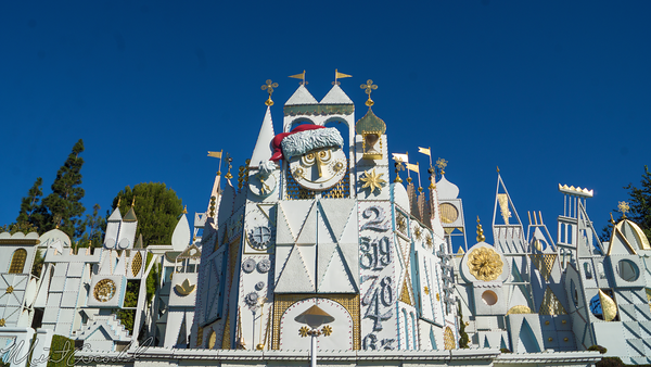 Disneyland Resort, Disneyland60, Christmas, Time, Disneyland, Fantasyland, Small, World, Holiday