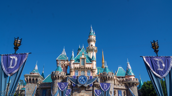 Disneyland Resort, Disneyland60, Halloween, Time, Disneyland, Fantasyland, Sleeping, Beauty, Castle, Bunting, Banner, Flags, Fade, Fading