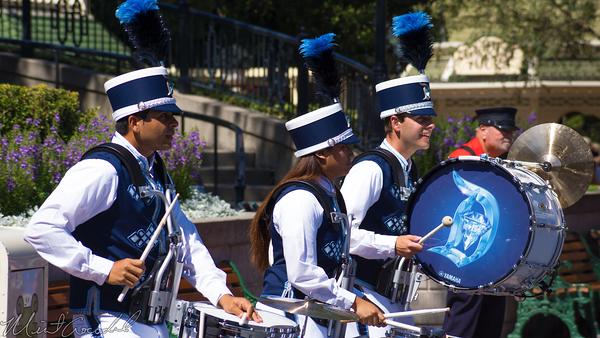 Disneyland Resort, Disneyland60, Disneyland, Main Street U.S.A., Band