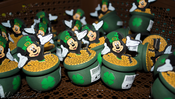Disneyland Resort, Disneyland, St, Patrick, Day, Antenna, Topper, Mickey, Mouse, Gold