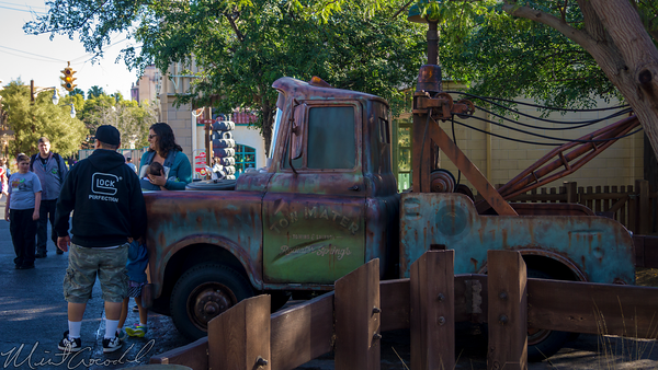 Disneyland Resort, Disneyland, Disney California Adventure, Cars Land, Tow, Mater