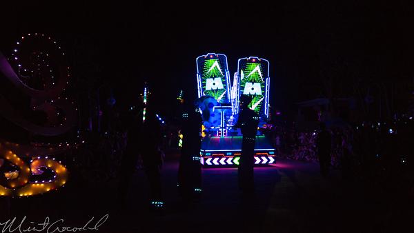 Hong, Kong, Disneyland, Paint, The, Night, Electrial, Parade