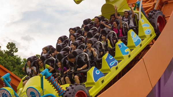 Hong, Kong, Disneyland, Toy, Story, Land, RC, Racer