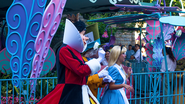 Disneyland Resort, Disneyland60, Halloween, Time, Disneyland, Alice, Mad, Hatter, Fantasyland, Queen, Hearts