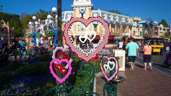 Disneyland Resort, Disneyland, Main Street U.S.A., Valentine, Valentines, Day, Hearts, Heart