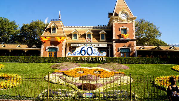 Disneyland Resort, Disneyland60, Halloween, Time, Disneyland, Floral, Mickey