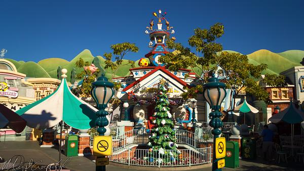 Disneyland Resort, Disneyland60, Christmas, Time, Disneyland, Toon, Town, ToonTown, Decorations, Decor