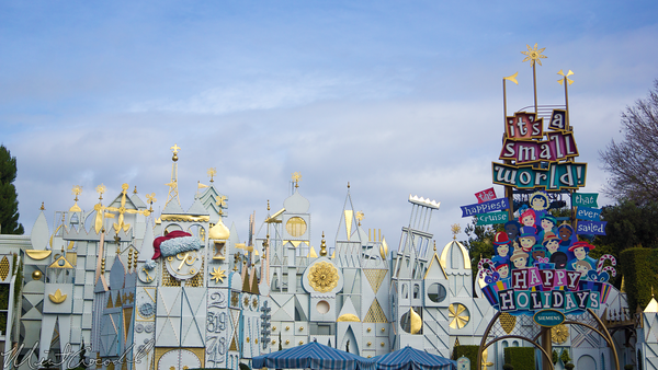 Disneyland Resort, Disneyland60, Disneyland, Fantasyland, it's, small, world, Small, World, Holiday, Christmas, Time