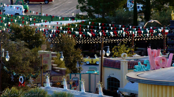 Disneyland Resort, Disneyland60, Christmas, Time, Disney California Adventure, Paradise, Pier, Mickey, Fun, Wheel, Cars Land, Luigi, Flying, Rollickin, Roadsters, Tires