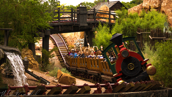 Disneyland Resort, Disneyland60, Disneyland, Big, Thunder, Mountain, Railroad