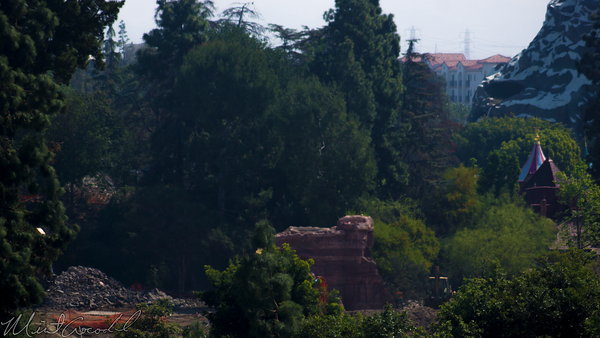 Disneyland Resort, Disneyland, Mickey, Friends, Parking, Structure, Star, Wars, Land, Construction, Frontierland, Critter, Country