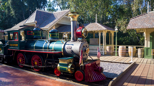 Disneyland Resort, Disneyland60, Disneyland, Railroad, New, Orleans, Sqaure, Depot, Station