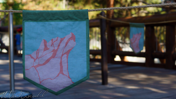 Disneyland Resort, Disneyland60, Disney California Adventure, Grizzly, River, Run, Theme, Flag, Rope, Queue
