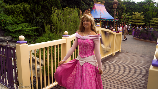 Hong, Kong, Disneyland, Fantasyland, Sleeping, Beauty, Castle, Snow, White, Grotto, Princess, Aurora