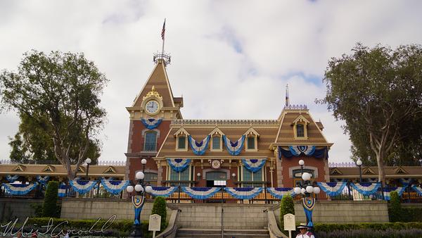 Disneyland Resort, Disneyland60, Disneyland, Main Street U.S.A., Railroad, Station, Depot