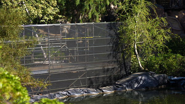 Disneyland Resort, Disneyland, Frontierland, Critter, Country, River, America, Star, Wars, Land, Cofferdam, Dam