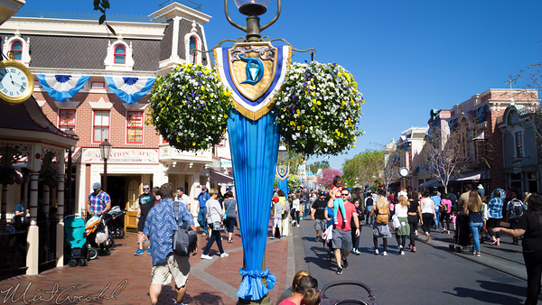 Disneyland Resort, Disneyland, Disneyland60, Main Street U.S.A., Decoration, Bunting