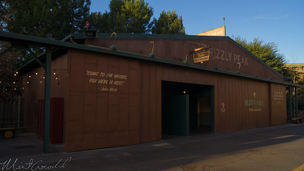 Disneyland Resort, Disneyland60, Christmas, Time, Disney California Adventure, Grizzly, Peak, Airfield,, Restroom