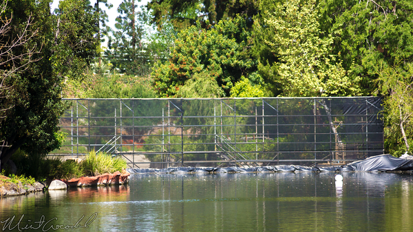 Disneyland Resort, Disneyland, Frontierland, River, America, Star, Wars, Land,Coffer, Dam, Cofferdam