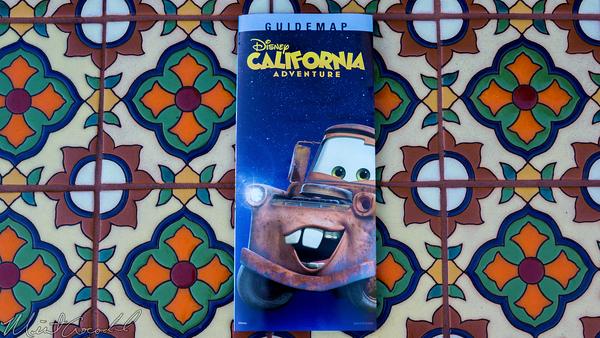 Disneyland Resort, Disneyland60, Christmas, Time, Disney California Adventure, Guide, Map