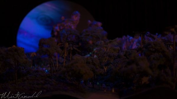 Disneyland Resort, Disneyland60, Disneyland, Disney California Adventure, D23, Expo, 2015, Pandora, World, Avatar, Model, Day, Night