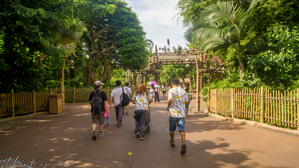 Hong, Kong, Disneyland, Adventureland