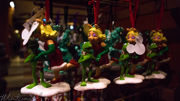 Disneyland Resort, Disneyland60, Disney California Adventure, Buena, Vista, Street, Merchandise, Kermit, Miss, Piggy, Ornament, Christmas