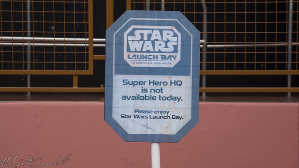 Disneyland Resort, Disneyland, Tomorrowland, Star, Wars, Launch, Bay, Super, HQ