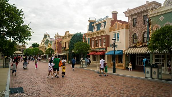 Hong, Kong, Disneyland, Main Street U.S.A.