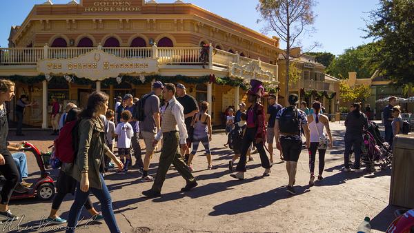 Disneyland Resort, Disneyland60, Christmas, Time, Disneyland, Frontierland, Princess, Frog, Dr, Facilier