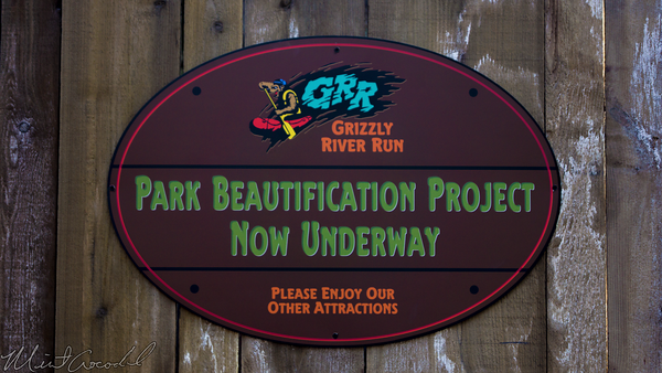 Disneyland Resort, Disney California Adventure, Grizzly, River, Run, Refurbishment, Refurbish, Refurb