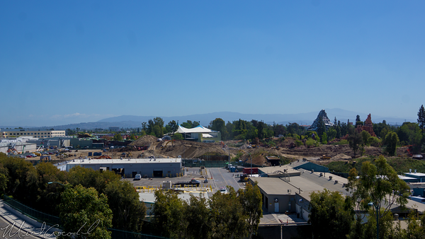 Disneyland Resort, Disneyland, Frontierland, Rivers, River, America, Mickey, Friends, Parking, Structure, Star, Wars, Land