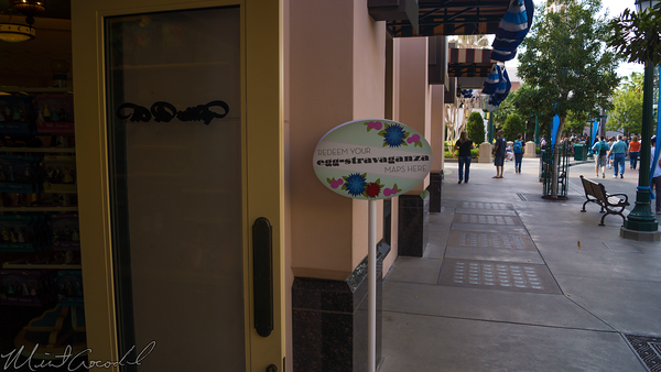 Disneyland Resort, Disney California Adventure, Buena, Vista, Street, Eggs-Stravaganza, East, Egg, Hunt