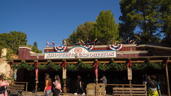 Disneyland Resort, Disneyland60, Christmas, Time, Disneyland, Frontierland, Shooting, Arcade