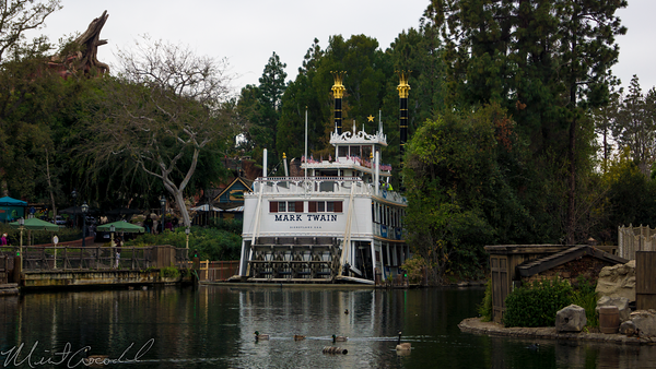 Disneyland Resort, Disneyland60, Disneyland, Frontierland, Rivers, America, River, Mark, Twain, Columbia, Refurbishment, Refurb, Refurbish, Star, Wars, Land, Tom, Sawyer, Island, Pirate's, Lair