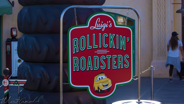 Disneyland Resort, Disneyland, Disney California Adventure, Cars Land, Luigi, Rollickin', Roadsters