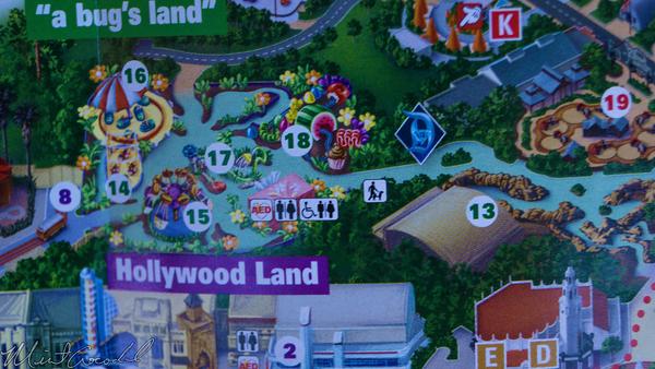 Disneyland Resort, Disneyland60, Disney California Adventure, Guide, Map, Cars Land, Radiator Springs Racers, Luigi, Rollickin', Roadsters