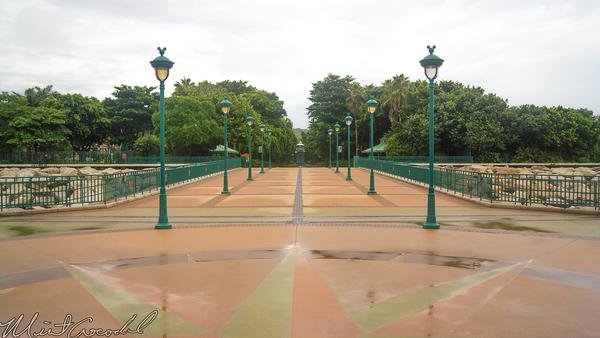 Hong, Kong, Disneyland, Esplanade, Walk, Way, Ferry, Boat, House