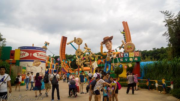 Hong, Kong, Disneyland, Toy, Story, Land