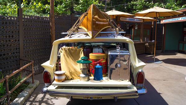Disneyland Resort, Disney California Adventure, Grizzly, Peak, Airfield, Station, Wagon, Camping, Camp