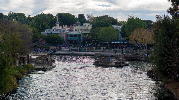 Disneyland Resort, Disneyland60, Christmas, Time, Disneyland, Frontierland, Mark, Twain, Island, River, America, Star, Wars, Land