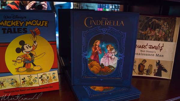 Disneyland Resort, Disneyland, Main Street U.S.A., 20th, Century, Music, Store, Shop, Cinderella, Book