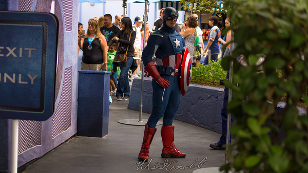 Disneyland Resort, Disneyland60, Disneyland, Tomorrowland, Marvel, Captain, America, Meet, Greet