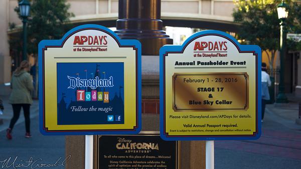 Disneyland Resort, Disneyland60, Disney California Adventure, Buena, Vista, Street, Annual, Passholder, AP, Days