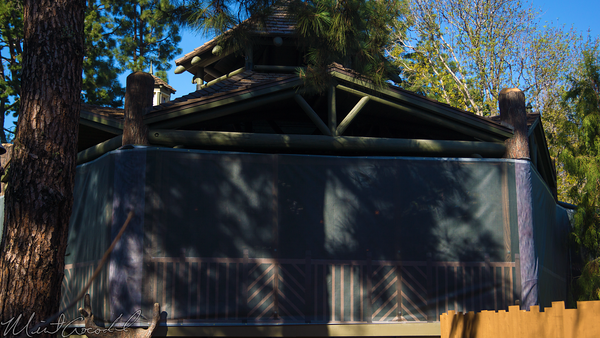 Disneyland Resort, Disneyland60, Disneyland, Critter, Country, Rivers, America, Star, Wars, Land, Closed, Close, Wall, Refurbishment, Refurbish, Refurb, Frontierland, Attraction, Poster, Posters, Hungry, Bear, Restaurant