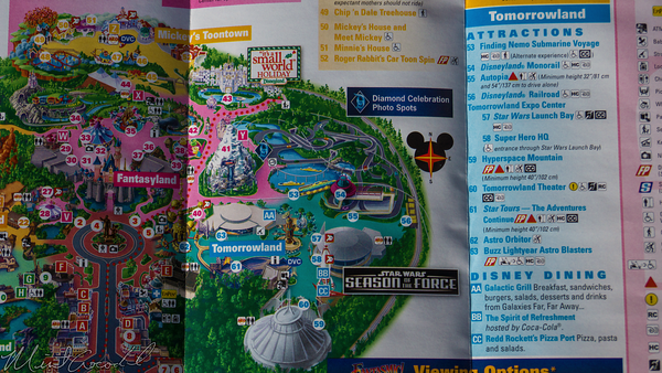 Disneyland Resort, Disneyland60, Christmas, Time, Disneyland, Star, Wars, Season, Force, Guide, Map