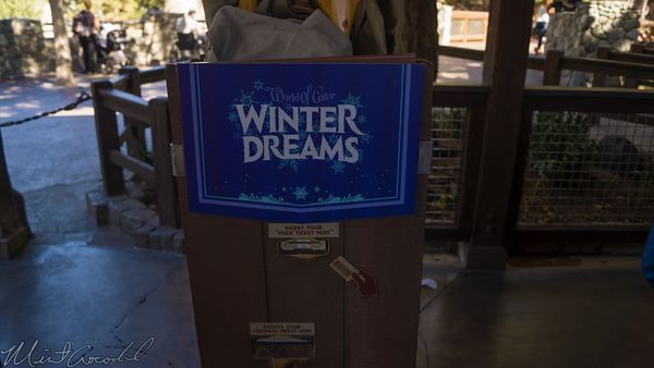 Disneyland Resort, Disneyland60, Christmas, Time, Disney California Adventure, Grizzly, Peak, World, Color, FastPass, Fast, Pass, Celebrate, Winter, Dreams