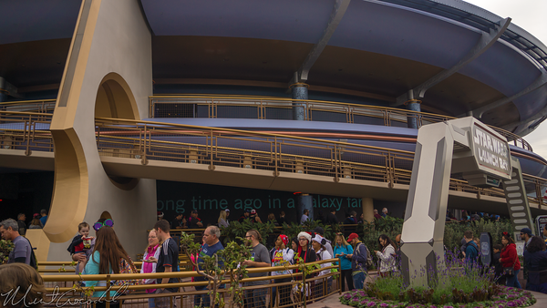 Disneyland Resort, Disneyland60, Christmas, Time, Disneyland, Tomorrowland, Star, Wars, Season, Of, The, Force, Launch, Bay